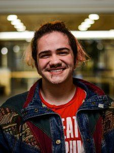 Photo of James Merten smiling